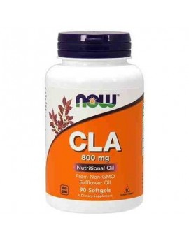 NOW - CLA 800mg NUTRITIONAL OIL 90softgels