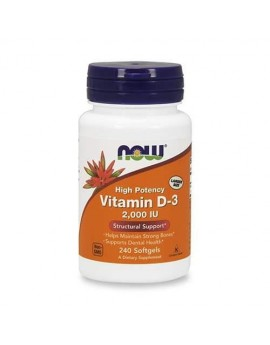 NOW - VITAMIN D-3 2,000 IU...