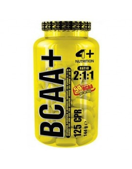 4+ NUTRITION - BCAA 125tabl