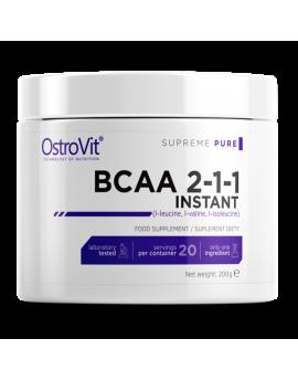 OSTROVIT - BCAA 2-1-1 INSTANT 200g PURE