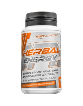 TREC- HERBAL ENERGY 60caps