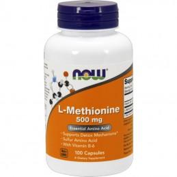 NOW - L-METHIONINE 500mg...