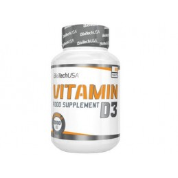 BIO TECH USA - VITAMIN D3 2000IU 60tabl
