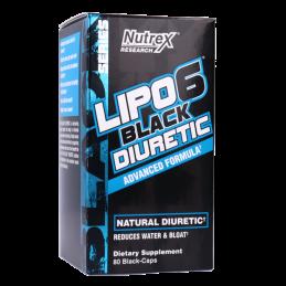 NUTREX - LIPO 6 BLACK DIURETIC 80 caps