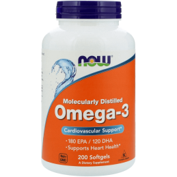 NOW - OMEGA-3 100softgels