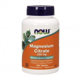 NOW - MAGNESIUM CITRATE...