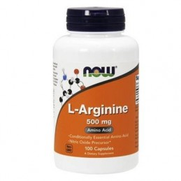 NOW - L-ARGININE 500mg 100caps