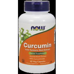 NOW - CURCUMIN 60 VEG CAPS