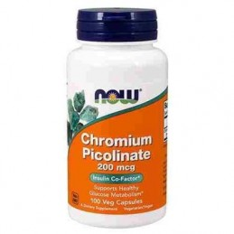 NOW - CHROMIUM PICOLINATE...
