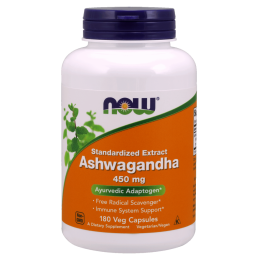 NOW - ASHWAGANDHA 450mg...