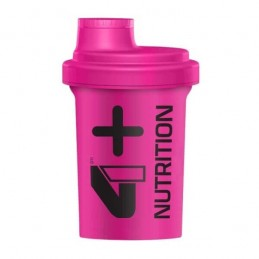 4+ NUTRITION - SHAKER PINK...